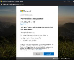OneDrive Permissions