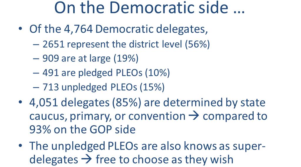 Democratic Delegates