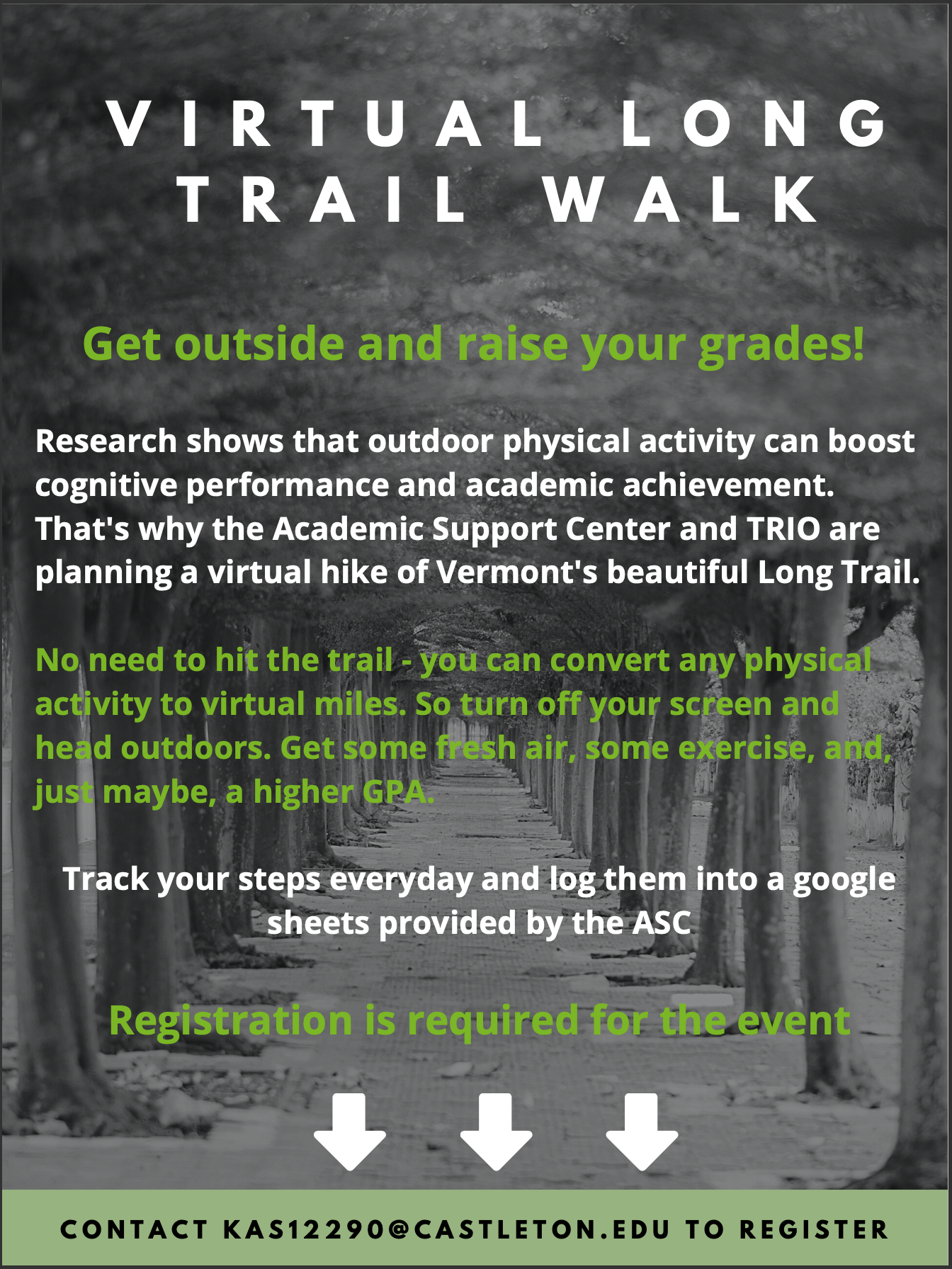 Join the Virtual Long Trail Walk