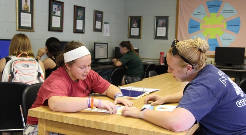 For More Confidence, Try Tutoring